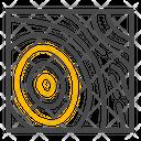 Aerial Terrain Layers Icon