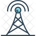 Aerial Antenna Broadcasting Icon