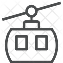 Rop Way Cable Car Cable Vehicle Icon