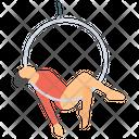 Aerial Hoop Icon