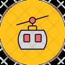 Aerial Lift Aerial Tramway Passenger Ropeway Icon