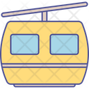 Aerial Lift Ropeway Chairlift Icon