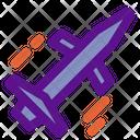 Aerial Rocket Icon