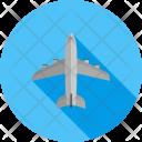 Aero Plane Passenger Icon