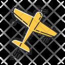 Aerobatics Maneuver Flying Icon