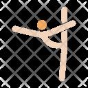 Aerobics Aerobic Gymnastics Icon