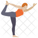 Aerobics Stretch Muscle Workout Icon