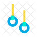 Gymnast Gymnastic Rings Gym Icon