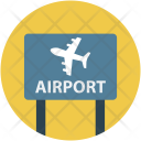 Aerodrome Airport Information Icon