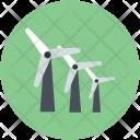 Aerogenerator Whirligig Wind Icon