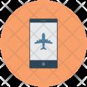 Aeroplane Ticket Booking Icon