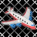 Flight Aeroplane Aircraft Icon