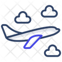 Aeroplane Aircraft Air Transport Icon