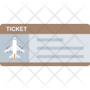 Aeroplane Ticket Icon