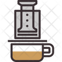 Aeropress Coffee Aeropress Coffee Maker Icon