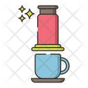 Aeropress Maker Coffee Icon