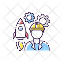 Aerospace Engineer Icon