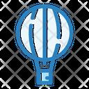 Aerostat Balloon Fly Icon