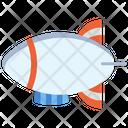 Aerostat Air Airship Icon