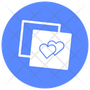 Affection Hearts Love Icon