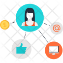 Affiliate Marketing Promotion Icon