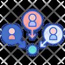 Affiliate Affiliation Netwroking Icon