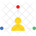 Affiliate Network People Connection Icon