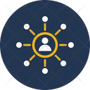 Affiliate Network People Icon