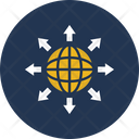 Affiliate Affiliation Global Network Icon