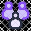 Affiliate Group Team Icon Icon
