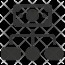 Affiliate market Icon