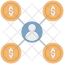 Affiliate Marketing Marketing Network Icon
