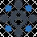 Affiliate Marketing Seo Social Network Icon