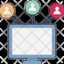 Advertising Affiliate Marketing Communication Icon