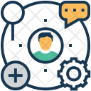 Affiliate Chat Relation Icon