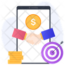 Affiliate Marketing Personal Connection Working Relationship Icon
