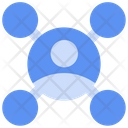 Affiliate Network Business People Icon