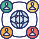 Affiliate Network Global Connectivity Global Network Icon