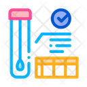 Affirmative Test Tube Icon
