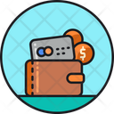 Affordable Credit Money Wallet Credit Card Icon