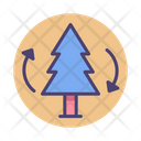 Afforestation Forestation Forest Icon