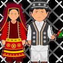 Afghani Outfit Afghani Clothing Afghani Dress Icon