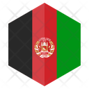 Afghanistan Flag Country Icon