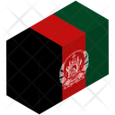 Flag Country Afghanistan Icon