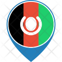 Afghanistan Flag World Icon