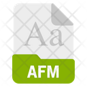 Afm file Icon