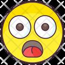 Afraid Emoji Icon