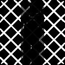 Afraid Man Hesitant Hesitate Icon