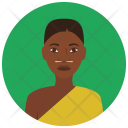 African Woman Avatar Icon