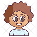 Cute Boy Kid Child Icon